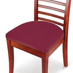 Collections Etc Easy Fit Seat Covers for Chairs, Bar Stools,