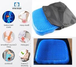 Egg Gel Orthopedic Seat Cushion Pad for Car& Office Chair &W