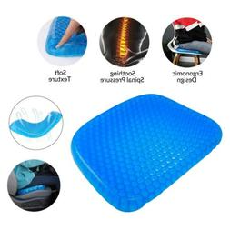 Egg Gel Seat Cushion Chair Pad with Non-Slip Cover For Car&
