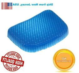 Egg Gel Seat Cushion Chair Pad with Non-Slip Cover