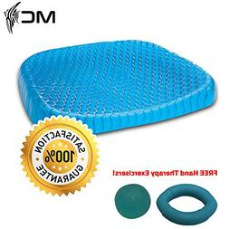 Egg Gel Seat Cushion with Non-Slip Cover Breathable Most Com