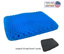 Egg Honeycomb Cooling Gel Support Seat Office Cushion Non-Sl