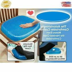 Egg Sitting Gel Cushion Seat Sitter Flex Pillow Back Support