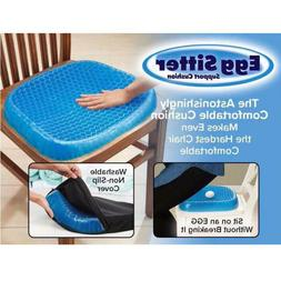 Egg Sitting Gel Flex Cushion Seat Sitter Breathable Ease Sup