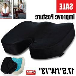 Egg Sitting Memory Foam Cushion Seat Sitter Flex Pillow Back