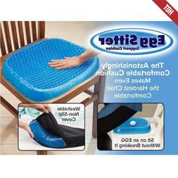 Egg Sitting Gel Flex Cushion Seat Sitter Ease Pillow Back Su