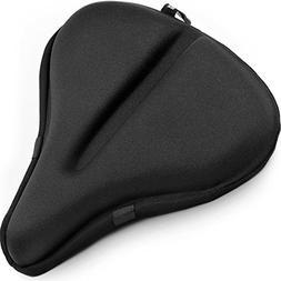 """Bikeroo Large Exercise Bike Seat Cushion – 11"""" x 12"""" Soft"""