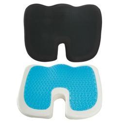 Extra Large Orthopedic Seat Cushion Coccyx Memory Foam Gel P
