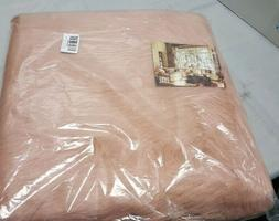 Luxe faux fur seat cushion 16 x 16  Dusty Rose