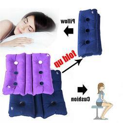 Foldable Air Inflatable Cushion Pad Seat Chair Wheelchair Pi