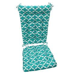 Barnett Products Fulton Aqua Porch Rocker Cushions - Standar