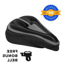 Roam Gel Bike Seat - Extra Soft Gel Bicycle Seat - Bike Sadd