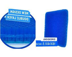Gel Pad Cushion Seat Honeycomb Gel Structured Back Support
