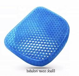 Sarayova Gel Pad Cushion Seat Honeycomb Gel Structured Back