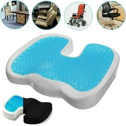 Gel Seat Cushion Breathable Honeycomb Non-Slip Relieves Scia