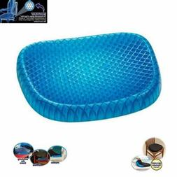 gel seat cushion breathable honeycomb non slip