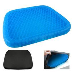Gel Enhanced Memory Foam Seat Cushion Pillow Office Desk Cha