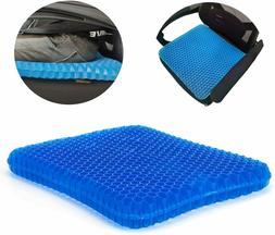 Gel Seat Cushion, Egg Wheelchair With Non-Slip Cover, Breath
