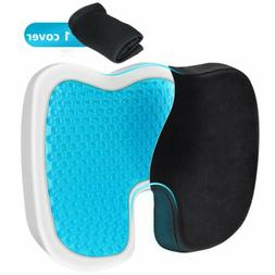 gel seat cushion non slip cover breathable