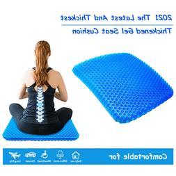 Gel Seat Cushion, Non-Slip Cover, Egg sitting Cushion Breath