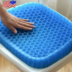 Gel Seat Cushion Pad Seat Sitter Flexible Breathable Pillow