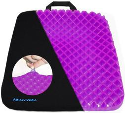Gel Seat Cushion Pressure Absorbs Honeycomb Sitter Elastic S