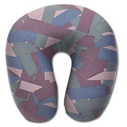 OASBHDUS159 Green Purple Cloth Pattern Sleep Artifact - U-sh