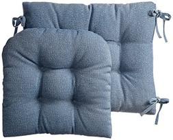 Klear Vu Gripper Jumbo Saturn Rocking Chair Cushion Set, Blu