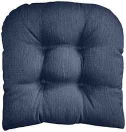 Klear Vu Gripper Non-Slip Omega Tufted Universal Chair Cushi