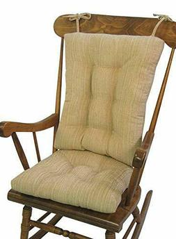 Klear Vu The Gripper Non-Slip Polar Jumbo Rocking Chair Cush