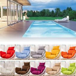 Hanging Egg Chair Pads Nonslip Soft Swing Chair Cushion Remo