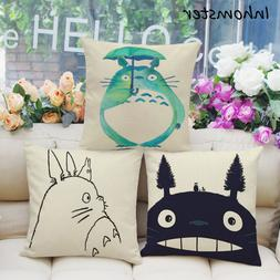 Hayao Miyazaki Style 45*45cm Home Decorative Pillow Totoro P