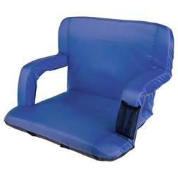 Home-Complete HC-3002-BLUE Wide Stadium Seat Chair Bleacher