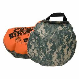 Therm-A-Seat Heat-A-Seat Camouflage/Blaze Orange 17 in. 333