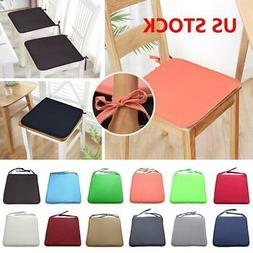 Home Chair Seat Tie On Pads Cushion Garden Kitchen Dining Ro