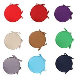 Home Office Kitchen Round Chair Seat Pads Cushion Indoor Din