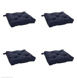 Ikea's MALINDA Chair cushion, Blue- Pack of 4