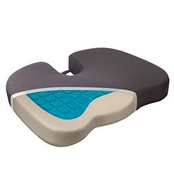 Wagan IN9113 Relax Fusion Coccyx Memory Foam and Gel Seat Cu