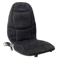 Wagan Soft Velour 12V Heated Seat Cushion Ultra Plush with H