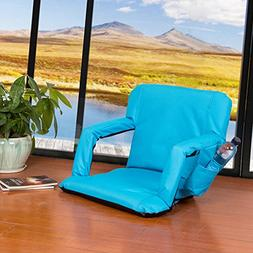 Sundale Outdoor Indoor Adjustable Floor Chair Five-Position