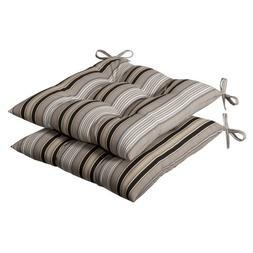 indoor black beige striped tufted
