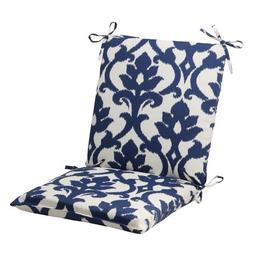 Pillow Perfect Indoor/Outdoor Bosco Squared Chair Cushion, N