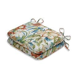 Pillow Perfect Indoor/Outdoor Botanical Glow Tiger Lily Roun