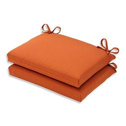 indoor cinnabar squared seat cushion