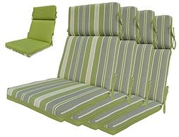 indoor green grey back chair