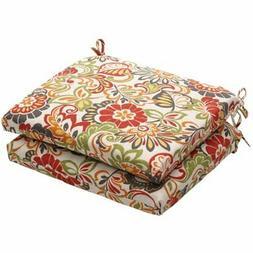 Pillow Perfect Outdoor/Indoor Zoe Mallard Squared Corners Se