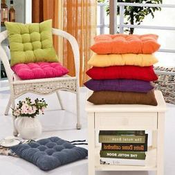 Indoor Outdoor Cushion Seat Chair Pad with Ties Garden Dinin