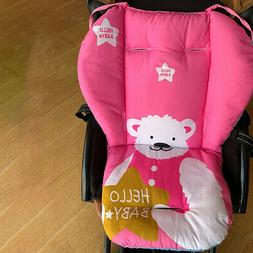 infant baby stroller seat cotton print cushion