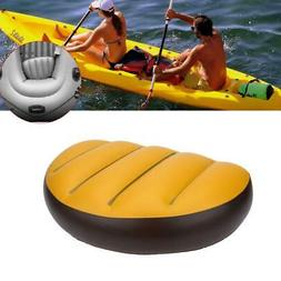 Inflatable Boat Kayak Seat Cushion Pad Rowing Comfortable Re