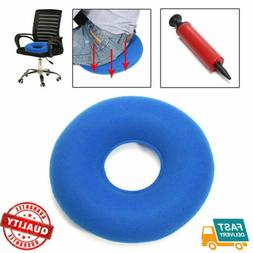 Inflatable Hemorrhoid Cushion Ring Donut Round Seat Pillow M